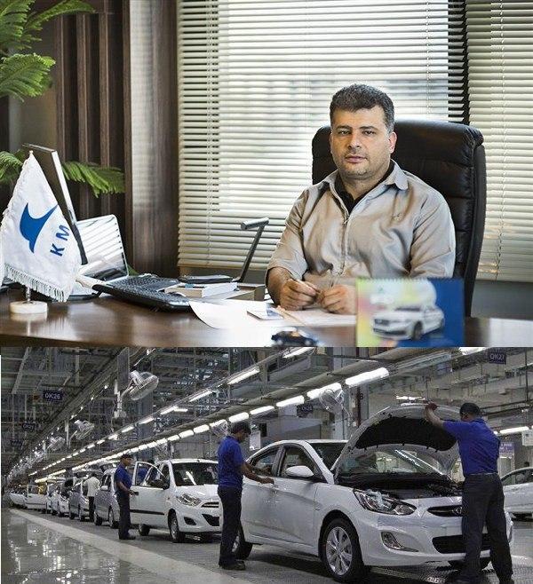 مدیرعامل کرمان موتور